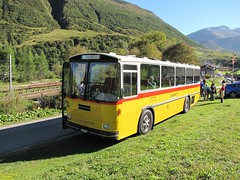 Saurer RH 525-23 (busdude) Tags: auto bus switzerland post swiss postauto saurer rh52523