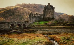 Once upon a time (CNorth2) Tags: uk travel autumn castle canon scotland eilean donan g11 dornie snapseed