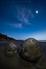 Moeraki Boulders - Jurassic Coast (Luke Austin) Tags: newzealand southisland dunedin moerakiboulders photographytrip landscapephotography