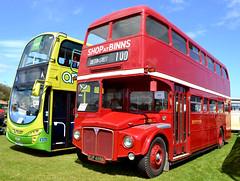 EUP 405B - AEC Routemaster/Park Royal (1964) (Ermintrude73) Tags: routemaster preservation leyland parkroyal vintagevehicle aec vintagetransport northerngeneraltransport classictransport preservedvehicle tyneteesrun2013