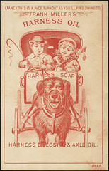 dogs children advertisingcards carriagescoaches oilsfats