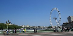 Westminster Bridge & The London Eye (Acid-47) Tags: london wheel londoneye capsule landmark iconic 2013