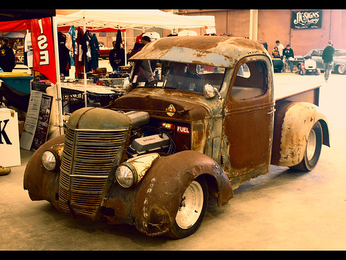 Rusty Old Rat Rod