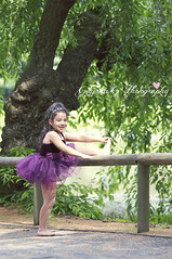 Ballerina (Gigi1122) Tags: portrait ballet kids brooklyn garden botanical ballerina purple tutu