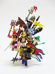 King of the Hill (Julius No) Tags: 3 castle war king lego hill contest battle single balance category stud entry