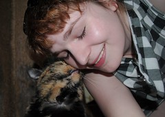 love my Sniddos (diantha~) Tags: love smile cat ginger kitty kisses redhead meow selfies
