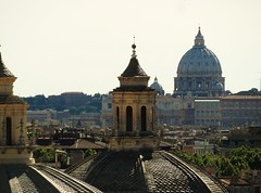 Rome - Skyline (phil_king) Tags: city italy vatican rome roma st skyline san view basilica dome peters pietro borghese