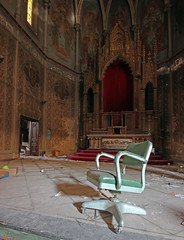 The Throne (jstancel) Tags: abandoned church movie pittsburgh urbandecay pa urbanexploration dogma