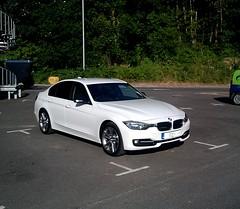 mein neues Auto (Gweems) Tags: windows white 3 black sport mirror rear caps wing bmw series tinted