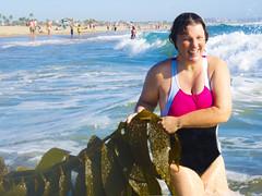 Lissy Wilson the Mermaid... (rebeccadru) Tags: mermaid santamonicabeach beachportraits elizabethwilson rebeccadru jerryepstein rebeccadruphotography lissywilson seaweedcreatures