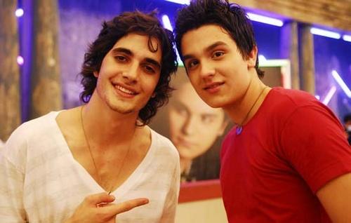 Fiuk e Luan Santana