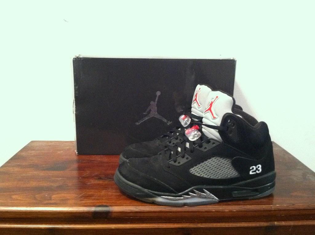 purchase cheap 0f5a4 0ec6f ... Air Jordan V Retro quotMetallicquot (Steven The Buff) Tags adidas ...