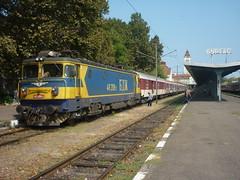 Burgas - 46.208, fast train Burgas - Sofia (lyura183) Tags: station train railway bulgaria burgas  bdz