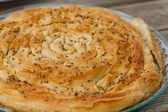 Suvikõrvitsatäidisega banitsa-pirukas. Vita banitza. Courgette and feta filo pie. Zucchini and feta filo pie. (Pille - Nami-nami) Tags: food recipe recipes naminami