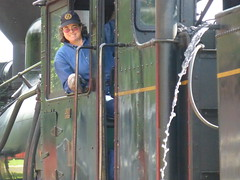 Our Fireman (ctcrankees) Tags: westvirginia steamtrain cassscenicrailway