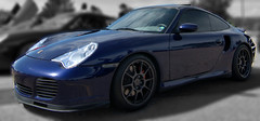 thomas (kfanciu) Tags: wheels 911 turbo porsche 996 ccw c10 lapisblue porsche996turbo 996tt ccwc10