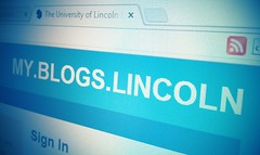 blogs.lincoln.ac.uk homepage