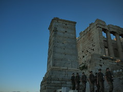 Return from the Ceremony (Shungo.a.Lie) Tags: athens worldheritagesite greece ep2 acropolisofathens