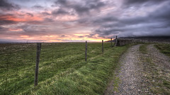 Dawns Awakening (Gareth Wray Photography -Thanks = 3.5 Million Hits) Tags: ocean county old ireland sunset sea summer vacation sculpture irish sun mist seascape motion colour building history abandoned tourism field misty fog stone wall set rural sunrise fence dark point landscape island photography dawn star nikon rocks day slow sheep natural farm details famous hill scenic dramatic landmark visit tourist historic atlantic fox fields hd sight colourful geology rise heights gareth hdr donegal tory ruined foreland wray gweedore strabane bunbeg tonemapped derrybeg 1024mm d5200 hdfox vision:mountain=069 vision:sunset=064