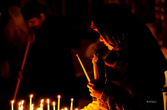 Easter Blessings! (ByTheChesapeakeBay) Tags: easter candles jerusalem prayer devotion reverence churchoftheholysepulcher nikond90 nikon50mm18g