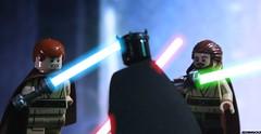 THANK YOU FOR 100+ FOLLOWERS! (JediBricks) Tags: star starwars lego wars legostarwars obiwankenobi episodei quigonjinn 2015 phantommenace jedibricks