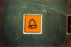 Ding (Melissa Maples) Tags: orange turkey nikon asia lift bell trkiye elevator lightleak antalya button nikkor vr afs  18200mm  f3556g  18200mmf3556g d5100