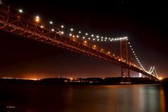 Ponte 25 de Abril, à noite - Lisboa (G.hostbuster (Gigi)) Tags: bridge night lisboa ghostbuster gigi49