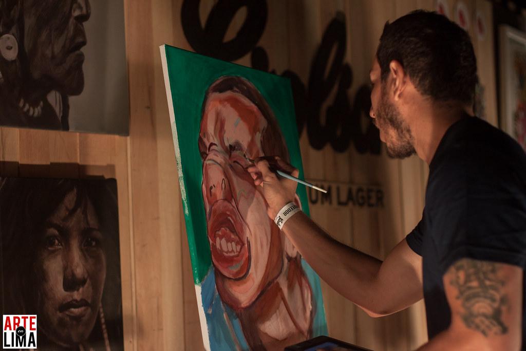 "Kasa Roja en ""House of Art"" de Grolsch en Casa Tupac"
