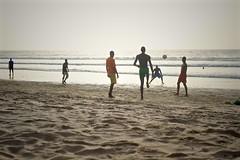 (*airam) Tags: africa atardecer playa gambia ftbol viajar