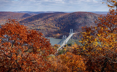 Bear Mountain Bridge (Terry (α)) Tags: 500px fallfoliage bearmountain upstateny autumnleaves