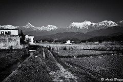 Fishtail and the Annapurna Range (Pandster1981) Tags: a77 annapurna fishtail honeymoon landscape nepal sony1650f28 sonya77
