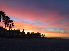 Sunrise over the Hotel Del Coronado (justL0VE) Tags: coronado sandiego sunrise pacificocean hoteldel home beach