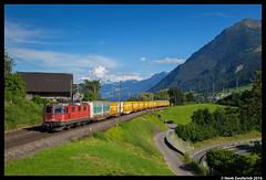 SBB Cargo 420 266, Kssnacht 17-07-2016 (Henk Zwoferink) Tags: kssnacht schwyz zwitserland henk zwoferink immensee db cargo sbb sbbc 420 re 44 re44 266