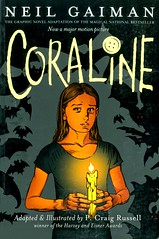 Coraline (Vernon Barford School Library) Tags: 9780060825454 neilgaiman neil gaiman pcraigrussell p craig russellcraig girls paranormal russell craigrussell coraline horror horrorfiction supernatural fantasy fiction fantasyfiction graphic novel novels graphicnovel graphicnovels vernon barford library libraries new recent book books read reading reads junior high middle vernonbarford fictional paperback paperbacks softcover softcovers covers cover bookcover bookcovers horrornovels