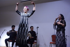 London Uyghur Ensemble (2016) 12 (KM's Live Music shots) Tags: worldmusic china uyghur londonuyghurensemble dancers opencentralasiainternationalfestival soas