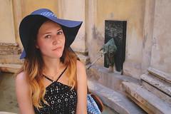 Florence (DeadUnicorn) (Olivija_Owl) Tags: 2016 florencia italy italia nomakeup me ombre hat sumeertime honeymoon nature girl latviangirl beautiful memories unicorn