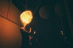 The fear addicted, danger illustrator (marcusklotz2014) Tags: firebreather fire pyro firestarter gasworkspark seattle