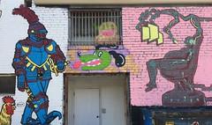 """Freak Alley"" Creativity (Sandra Lee Hall) Tags: freakalley artist creative talented idaho boise art public city painted colorful"