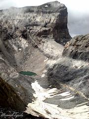 El Cilindro (Manu Tejada) Tags: montaa mountains rocks landscape parque nacional ordesa monte perdido cilindro lago helado snow glacier bielsa aragon espaa
