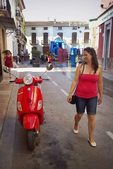 Spain 2016 - 2 Aug 2016 - Nokia Lumia 1020 - Jalon/Xalo - Lisa and the Red Vespa (Gareth Wonfor (TempusVolat)) Tags: nokia lumia 1020 mobilephone phone vespa red town xalo picmonkey holiday spainholiday spain 2016 vacance summer gareth wonfor tempus volat mrmorodo tempusvolat garethwonfor wife lisa girl woman holidaysnaps beauty beautiful brunette beautifulwife beautifulwoman prettywife attractive pretty lovelywife mywife mygirl gorgeouswife lovelylisa prettylisa goodlooking goodlooks spouse lover lovely love allure elegant mole tummy belly voluptuous demure shapely curvaceous boobtube strapless top tube tubetop