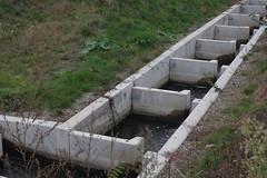 Zöbing (Harald Reichmann) Tags: waldviertel kamptal zöbing bauwerk beton wasser fischwanderhilfe kamp niederösterreich intervention wiederholung muster system anordnung