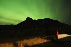 Aurora (Cagsawa) Tags: aurora northernlights light nightlights night iceland magnetic rx100 vik southerniceland southiceland nightsky longexposure stars starrynight