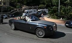 (Uno100) Tags: rolls royce phantom drophead coupe black monaco fairmont hotel hairpin