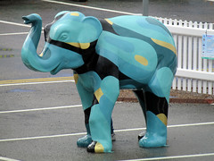 Topsy by Florence Blanchard, Herd of Sheffield Farewell Weekend 2016 (Dave_Johnson) Tags: topsy florenceblanchard herdofsheffield herd elephant elephants art streetart sculpture sheffchildrens sheffieldchildrenshospitalcharity sheffieldchildrenshospital childrenshospitalcharity childrenshospital sheffield southyorkshire meadowhall carpark shoppingcentre