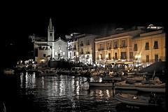 Marina Corta di notte (Silver_63) Tags: lipari isole eolie
