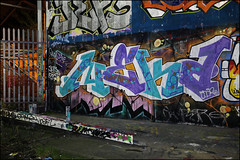 Neka (Alex Ellison) Tags: neka 1t tbf ctr cityrollers mhb night northlondon urban graffiti graff boobs