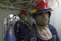 161015-N-JS726-076 (SurfaceWarriors) Tags: navy marines amphibiousassault southchinasea bonhommerichard generalquarters fireteam expeditionarystrikegroup underway deployment military