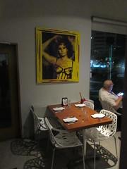 Sophia Loren portrait, Melanzana Bistro Pizzeria, Miramar, San Juan, Puerto Rico (Paul McClure DC) Tags: sanjuan puertorico caribbean july2016 miramar santurce