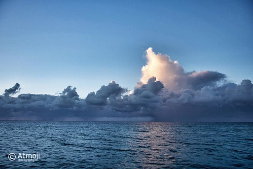 #Whale breaching in #Bimini ? The clouds at the end of the day look that way.  #photooftheday #wildquest #whaleofatime