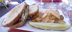Turkey BLT (Bill in DC) Tags: food 2016 restaurants nm newmexico santafe terracottawinebistro